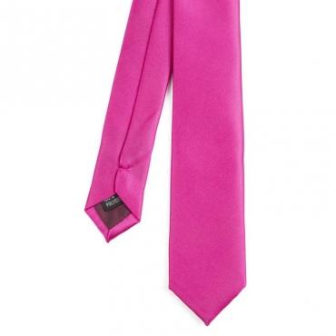 Cravatta tinta unita 414PINK