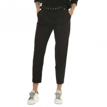 Pantaloni Boa con cintura in vita 00016