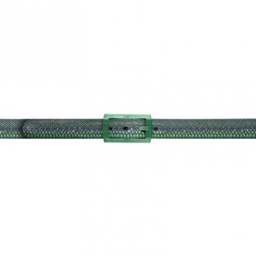 Cintura trama pitone blu e verde DBLUE/VERDE
