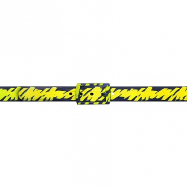 Cintura Schizzo blu e gialla BLU/YELLOW