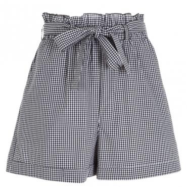 Shorts a quadretti bicolori X2H1
