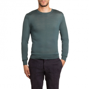 Pullover slim fit in lana merino LOVAT2