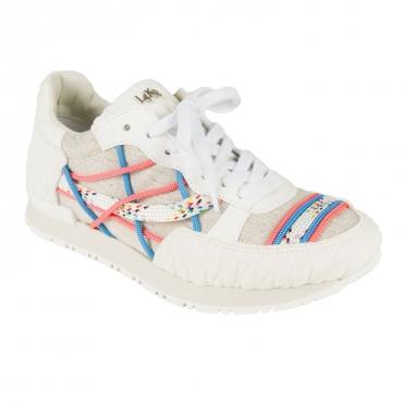 Sneakers Mr Big U05 BIANCO/LINO