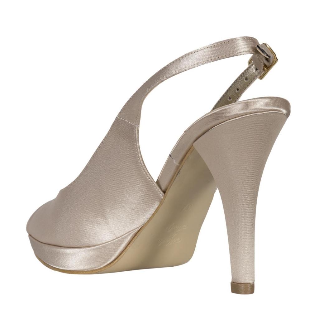 Sandal Lucy open toe PLAT NIGHT