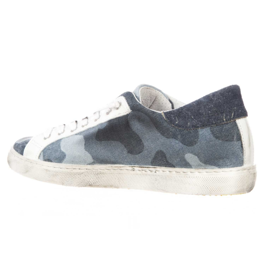 Sneakers mit Leder-Obermaterial mit Camouflage-Camouflage-Camouflage-Camouflage Camouflage