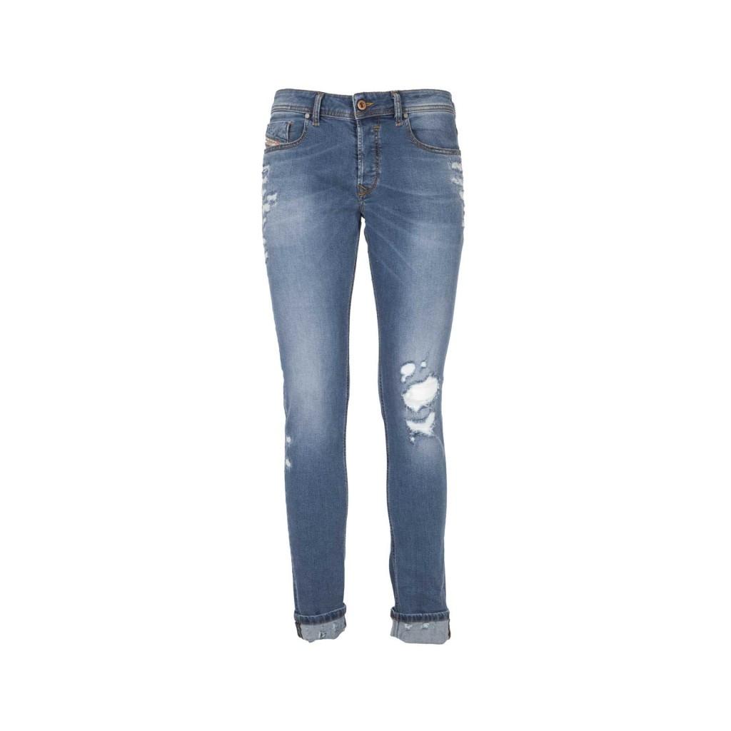 Jeans skinny slim Sleenker con abrasioni 01
