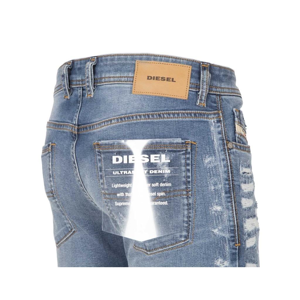 Slim skinny Sleenker jeans with abrasions 01