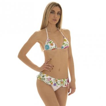 Bikini Miami bianco a fiori 11