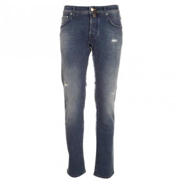 Jeans J622 lavaggio 4 tinto con Indaco Naturale GENJC004