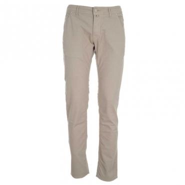 Pantaloni J613 con micro trama GENJC351