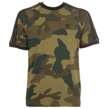 T-shirt camouflage con bande MULTCO