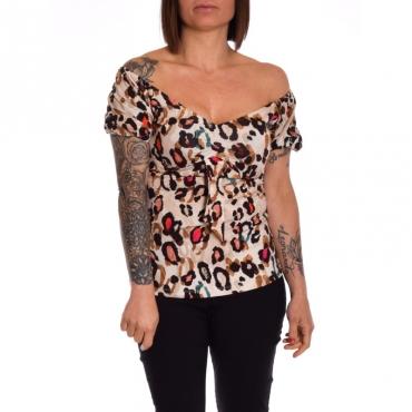 T-shirt moda manica corta MULTICOLOR SPOTS