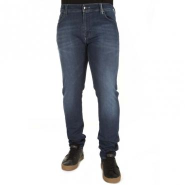 Jeans Leonardo slim fit in denim B188320E76
