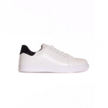 Sneaker retro glitter BIANCO/NERO