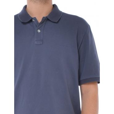 Woolrich Polo Manica Corta Uomo Blu