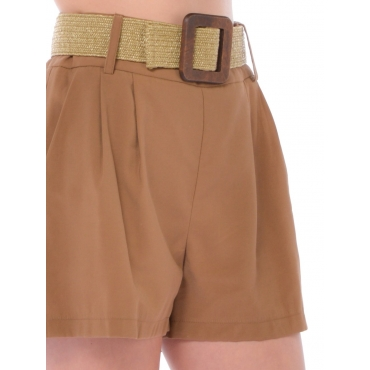 Silvian Heach Short Mini Donna Marron