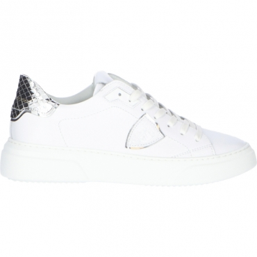 SNEAKERS TEMPLE S PHILIPPE MODEL SILVER