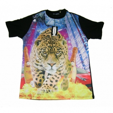 MAGLIETTA MINIMARKET T-SHIRT TIGRE All Over unico