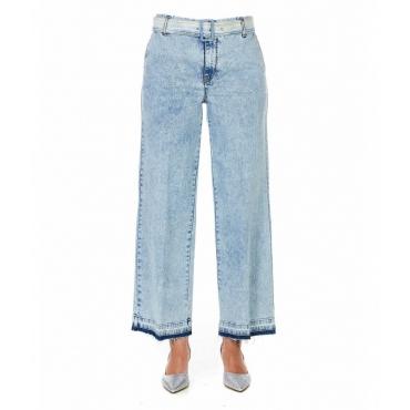 Mom Jeans azzurro