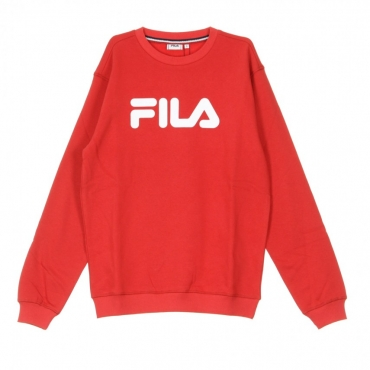 FELPA GIROCOLLO PURE CREW SWEAT TRUE RED