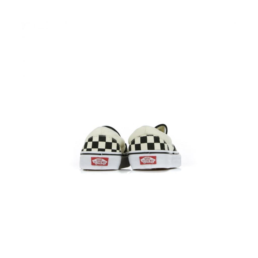 CLASSIC SLIP-ON SHOE BLACK / WHITE / WHITE