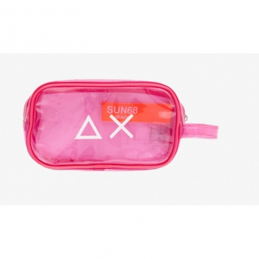 Borsa - X3015 beauty trasparente 20 - Fuxia