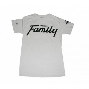 MAGLIETTA FAMOUS T-SHIRT PRO GAME FAMILY Silver/Black unico