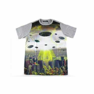 MAGLIETTA MINIMARKET T-SHIRT UFO All Over unico