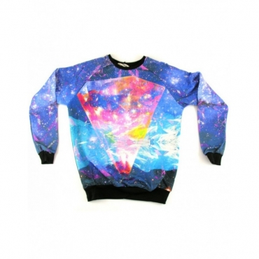 FELPA GIROCOLLO MINIMARKET SWEATSHIRT CREWNECK DIAMANTE All Over unico