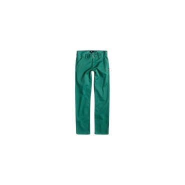 PANTALONE LUNGO DC SHOES PANT WORKER STRAIGHT FIT Green unico