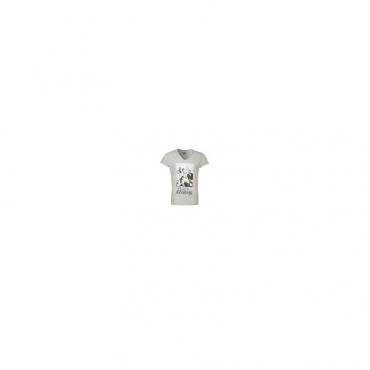 MAGLIETTA BOOM BAP T-SHIRT V NECK CLASSY  FABOLOUS Mixed Grey unico