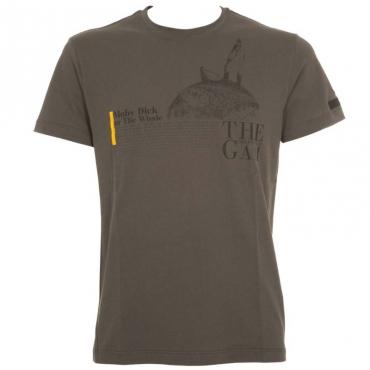 T-Shirt Shirty The Gam verde militare 21VERDEMILIT