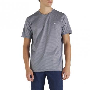 T-shirt con badge shark 135