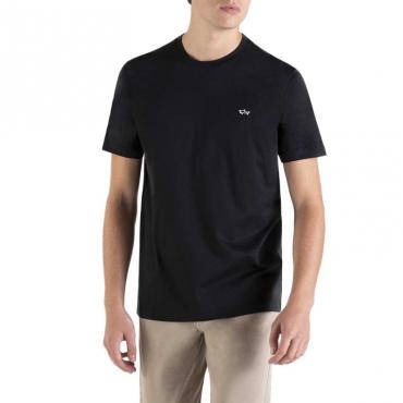 T-Shirt in cotone organico con logo 011