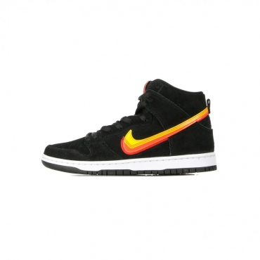 SCARPA ALTA SB DUNK HIGH PRO BLACK/UNIVERSITY GOLD/TEAM ORANGE