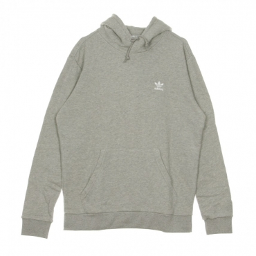FELPA LEGGERA CAPPUCCIO ESSENTIAL HOODY MEDIUM GREY HEATHER