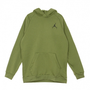 FELPA CAPPUCCIO JUMPMAN FLEECE PO THERMAL GREEN/BLACK