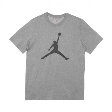 MAGLIETTA JUMPMAN CREW CARBON HEATHER/BLACK