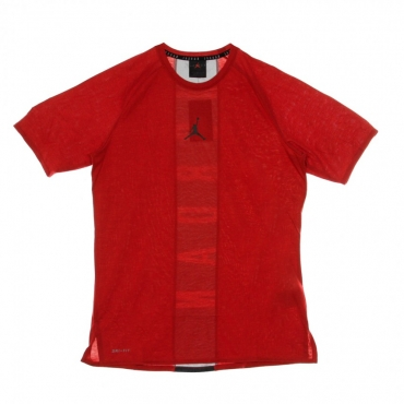 MAGLIETTA 23 ALPHA DRY SS TOP GYM RED/BLACK