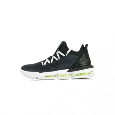 SCARPA BASSA LEBRON XVI LOW BLACK/BLACK/SUMMIT WHITE/VOLT