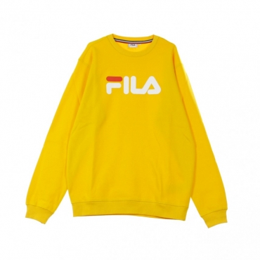FELPA GIROCOLLO PURE CREW SWEAT CITRUS