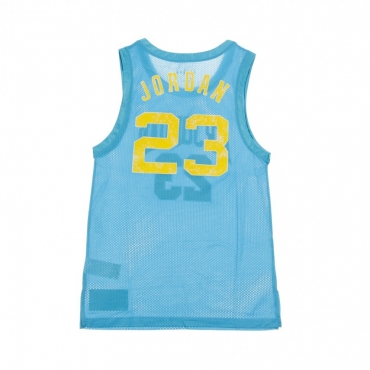 CANOTTA TIPO BASKET DNA DISTORTED JERSEY LT BLUE FURY