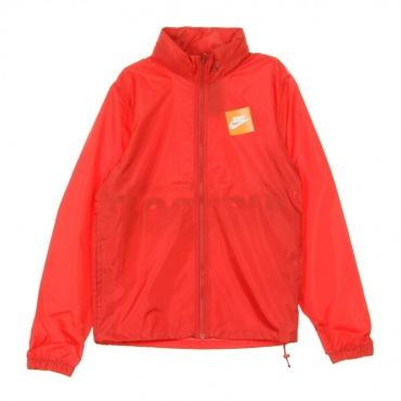WINDBREAKER JDI JKT HD WVN UNIVERSITY RED