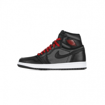 SCARPA ALTA AIR JORDAN 1 RETRO HIGH OG BLACK/GYM RED/BLACK/WHITE