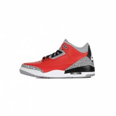 SCARPA ALTA AIR JORDAN 3 RETRO SE RED CEMENT FIRE RED/FIRE RED/CEMENT GREY/BLACK
