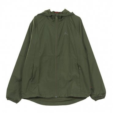 WINDBREAKER WINGS GFX WINDBREAKER OLIVE CANVAS/BLACK