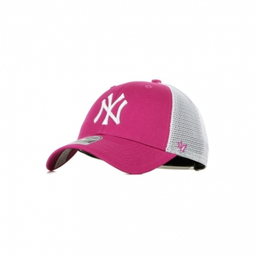 CAPPELLINO VISIERA CURVA MLB FLAGSHIP MVP NEYYAN ORCHID/WHITE