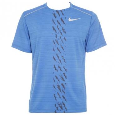 T-Shirt sportiva traspirante azzurra 402PACIFICBL