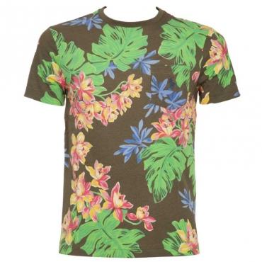 T-shirt custom slim fit floreale SURPLUSTROPI