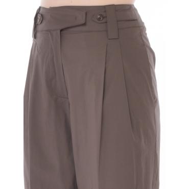 Seventy Pantalone Chino Donna Marron